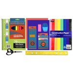 School Supply Pouch Kit $2.60 Each.