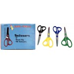 "5"" Blunt Tip Scissors In Bulk Case of 288"