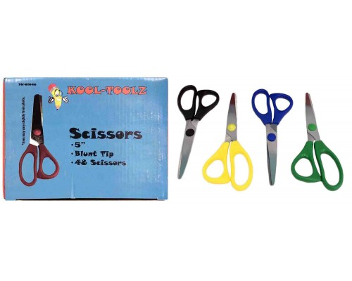 "5"" Blunt Tip Scissors In Bulk Case of 288"