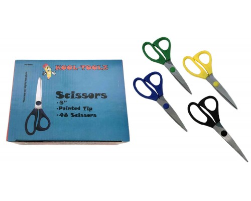 Kool Toolz Pointed Scissors 5""