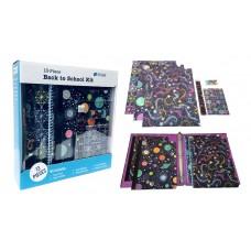 Moon & Stars 13 Pc. School Supply Kit