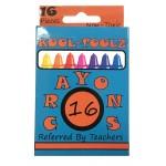 School Crayons 16 ct.  $0.68 Each.