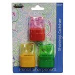 Dome Pencil Sharpeners 3 Pack
