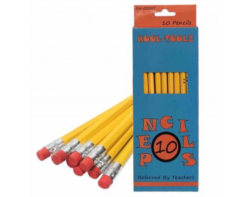 No.2 Pencils 10 Count