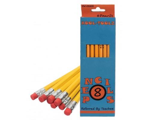 No.2 Pencils 8 Count