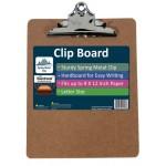 Hardboard Clipboards