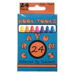 24 ct. Wholesale school crayons $0.65 Each