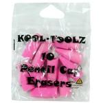 Kool Toolz Pink Cap Erasers 10ct.