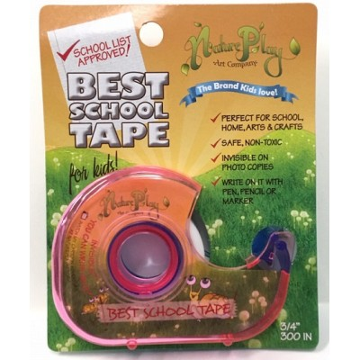 """Nature Play 3/4"""" Invisible Tape"""