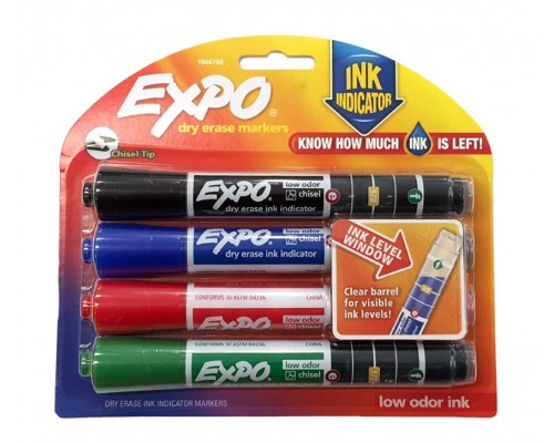 EXPO Dry Erase Markers 4 ct.