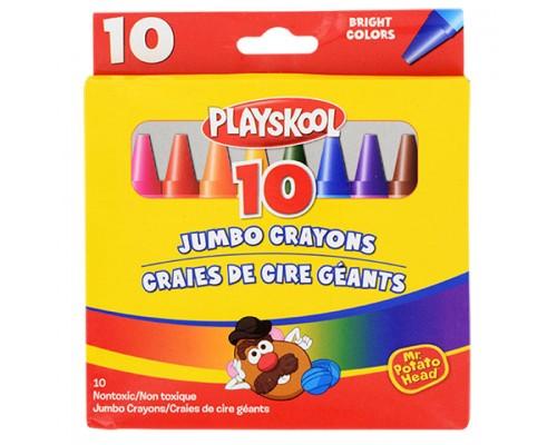 Playskool Jumbo Crayons 10ct.