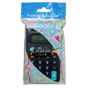 8 Digit Black Calculators