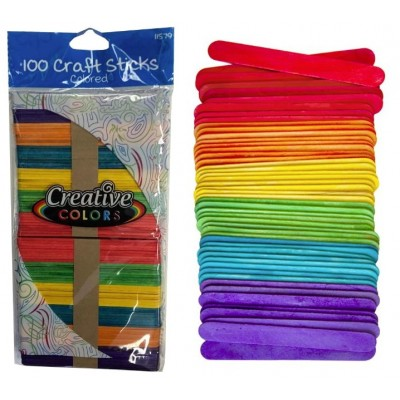 Craft Sticks Colored