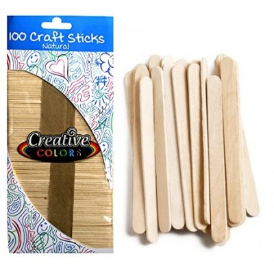 Craft Sticks Natural Wood
