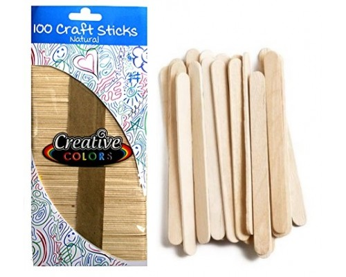 Craft Sticks Natural Color