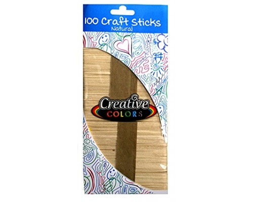 Craft Sticks Natural Color $0.89 Each.