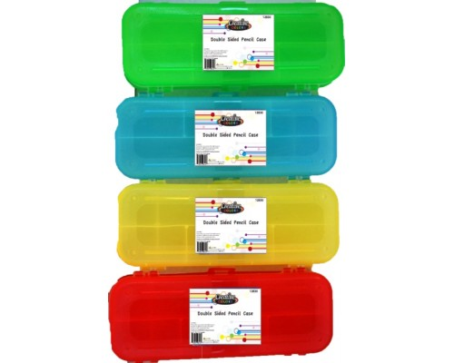 Double Sided School Pencil Case $0.00 Each.