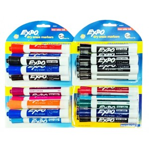 EXPO Dry Erase Markers 6 ct.
