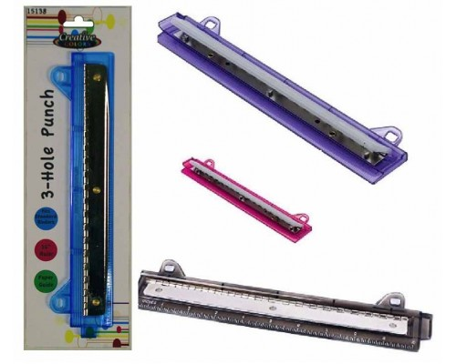 3 Hole Paper Punch $1.84 Each