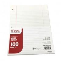 W/R Mead Filler Paper 100 Sheets