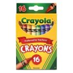 Crayola Crayons 16 ct. $0.95 Each.