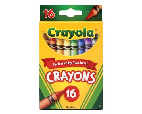 Crayola Crayons 16 ct. $0.89 Each.