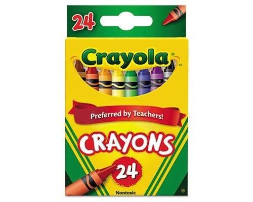 Crayola Crayons 24 ct. $1.09 Each.