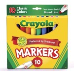Crayola Broad Markers 10 ct. $2.29 Each