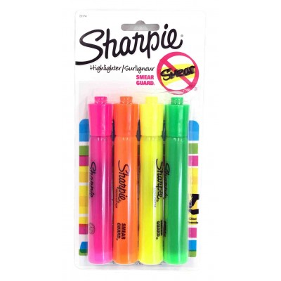 Sharpie Highlighters 4 Count