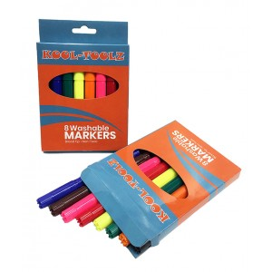 KOOL TOOLZ Washable Markers 8 ct.