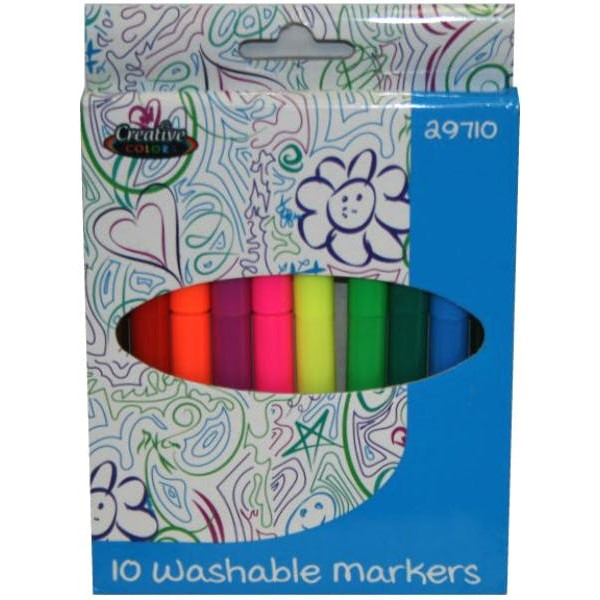 Washable Markers 10 Count