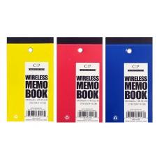 "3""x 5.5"" Wireless Memo Pads"