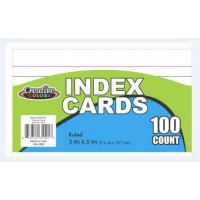 """3""""x 5"""" Lined Index Cards"""