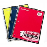 Top Flight C/R Spiral School Notebooks $0.95 Each.