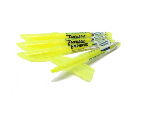 Ticonderoga Emphasis Yellow Highlighters