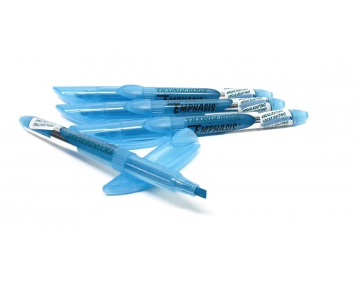 Ticonderoga Emphasis Blue Highlighters