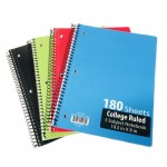 5 Subject C/R Spiral Notebooks
