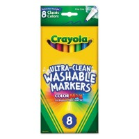 Crayola Washable Markers ColorMax 8 ct.