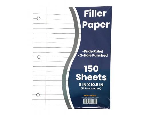 W/R Filler Paper 150 Sheets