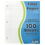 W/R School Notebook Paper 100 Sheets