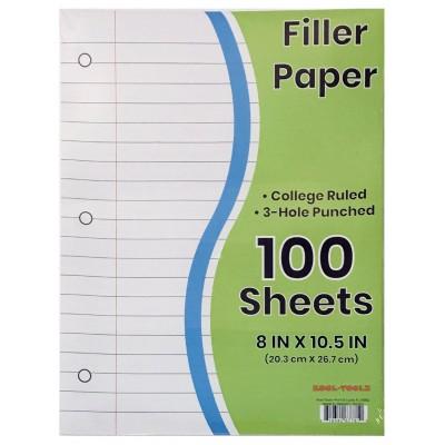 C/R Filler Paper 100 Sheets