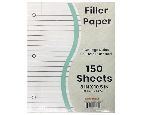 C/R Filler Paper 150 Sheets