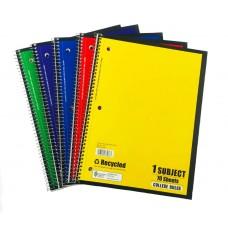 1 Subject C/R Spiral Notebooks Norcom