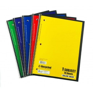 1 Subject C/R Spiral Notebooks Norcom