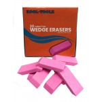 Pink Wedge Erasers