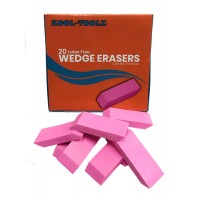 Pink Wedge Erasers