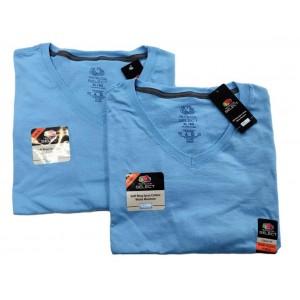 Men's V-Neck T-Shirts 2 Pack XL