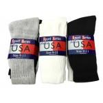 Men's/Boys Hike Socks 9-11  $8.00 Each Dz.