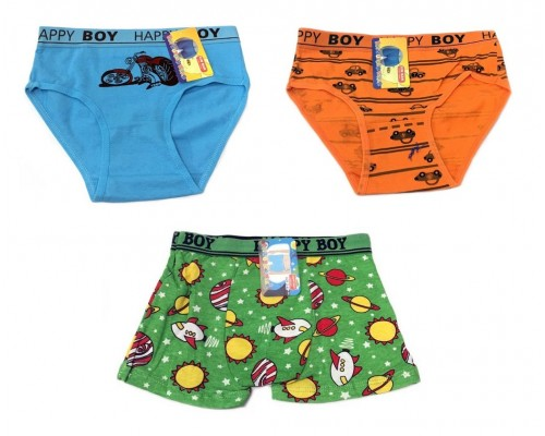 Boys Assorted Underwear Size 2-4 $1.00 Each.