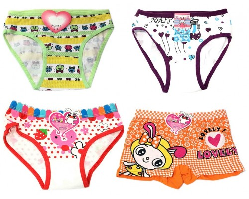 Wholesale Girls Underwear Size 2-4